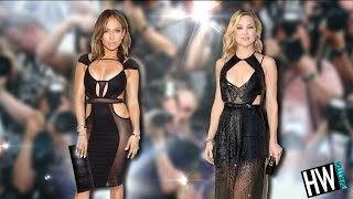 Jennifer Lopez Vs. Kate Hudson: Sexiest Little Black Dress!? (FRESH TREND SHOWDOWN)