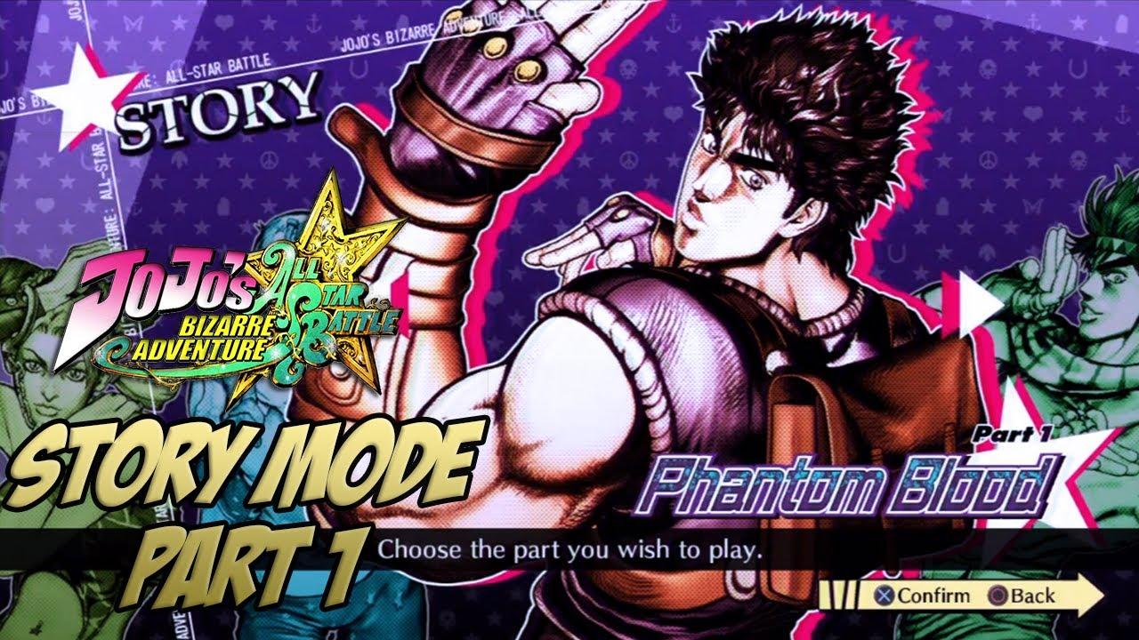 JoJo's Bizarre Adventure: All Star Battle – STORY MODE [English Subtitles] ~ Part 1: Phantom Blood