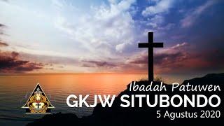 Ibadah Patuwen GKJW Situbondo || Karena kita berharga || 5 Agustus 2020