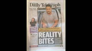 Reeeee'ing at the Daily Telegraph's Front Page