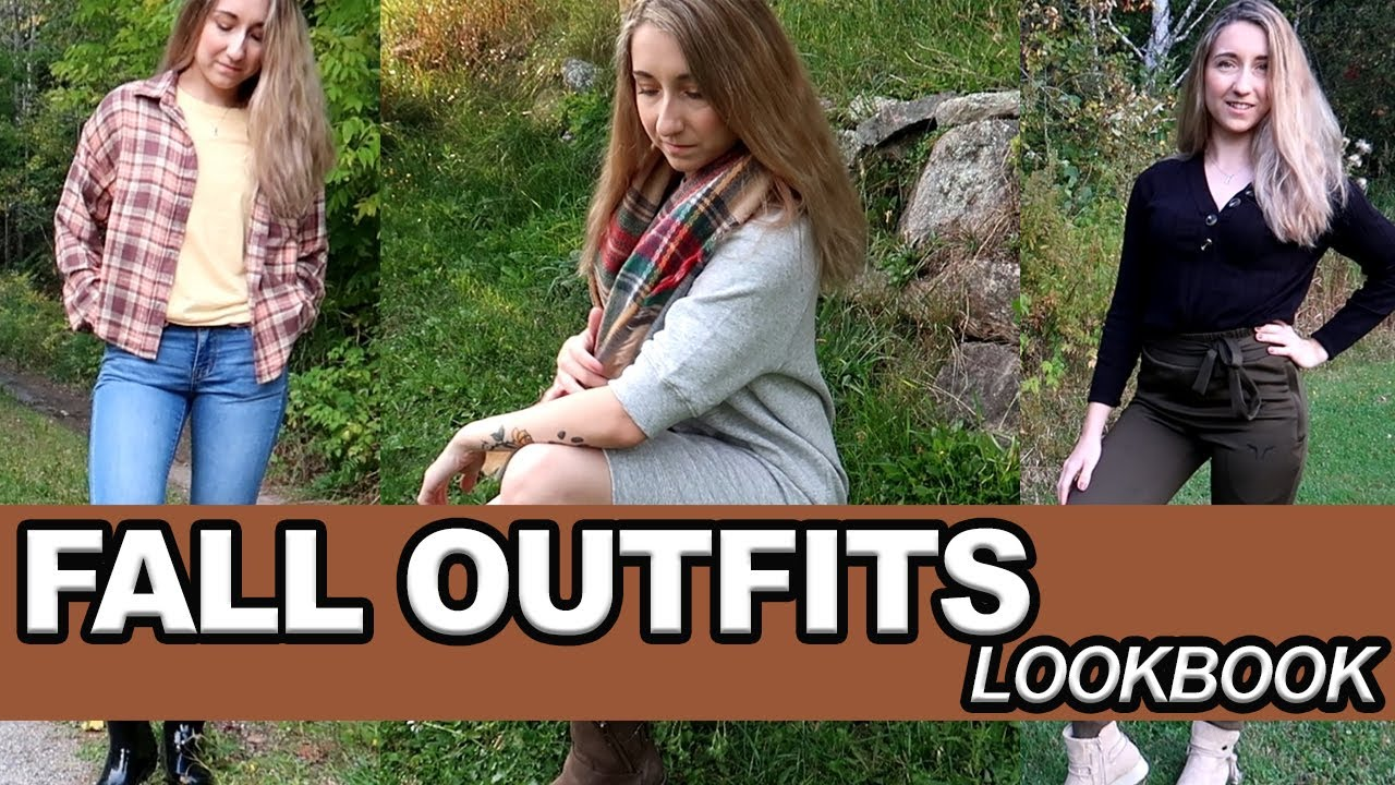 [VIDEO] - HOW TO STYLE COZY FALL OUTFITS!  3 FALL OUTFIT IDEAS + LOOKBOOK 1