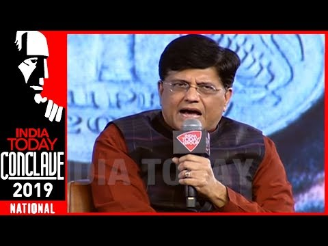 I Don't Believe In CMI Data : Union Minister Piyush Goyal | IT Conclave 2019