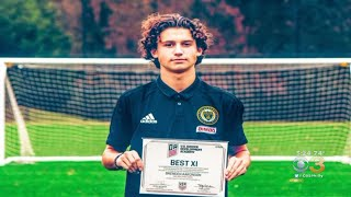 Medford New Jersey Teen Is A Rising Star With Philadelphia Union