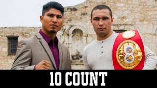 Valdez vs. Quigg on ESPN and Garcia vs. Lipinets on Showtime, March 10th - 10 Count