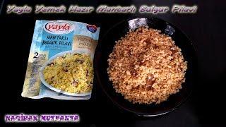 Yayla Hazır Yemek/ Mantarlı Bulgur Pilavı- Mantarlı Pilav-Ürün Denemesi