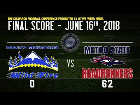 WEEK 6: Rocky Mountain Wildfire vs Metro Roadrunners