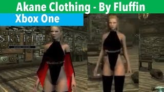 Skyrim SE Xbox One Mods|Akane Clothing CBBE/UUNP-By Fluffin