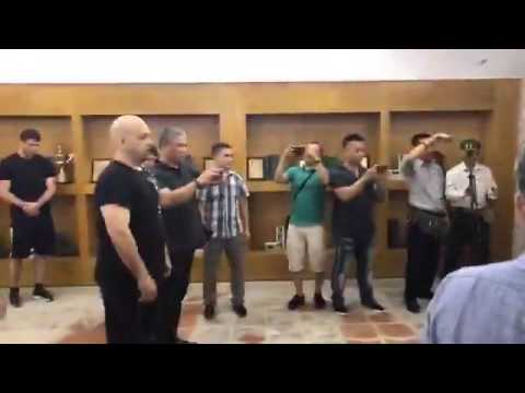Karate Master Doan Bao Chau vs Wing Chun Master Pierre Francois Flores  12th July 2017