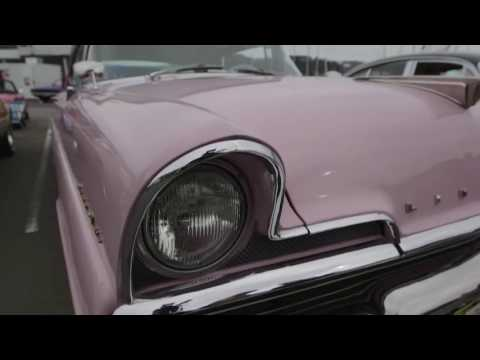 "1956 Lincoln Premiere Featured on Australian TV Car show ""Cruise Mode"" August 2016 Channel Ten"