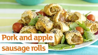 How To Make Pork & Apple Sausage Rolls