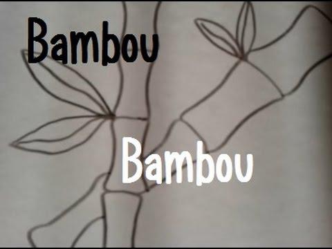 Dessiner du bambou youtube - Comment se debarrasser des bambous ...