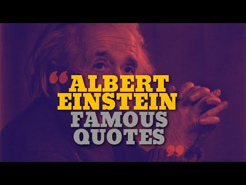 Top 10 Albert Einstein Quotes – Motivational video