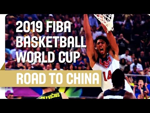 Road to the 2019 FIBA Basketball World Cup in China