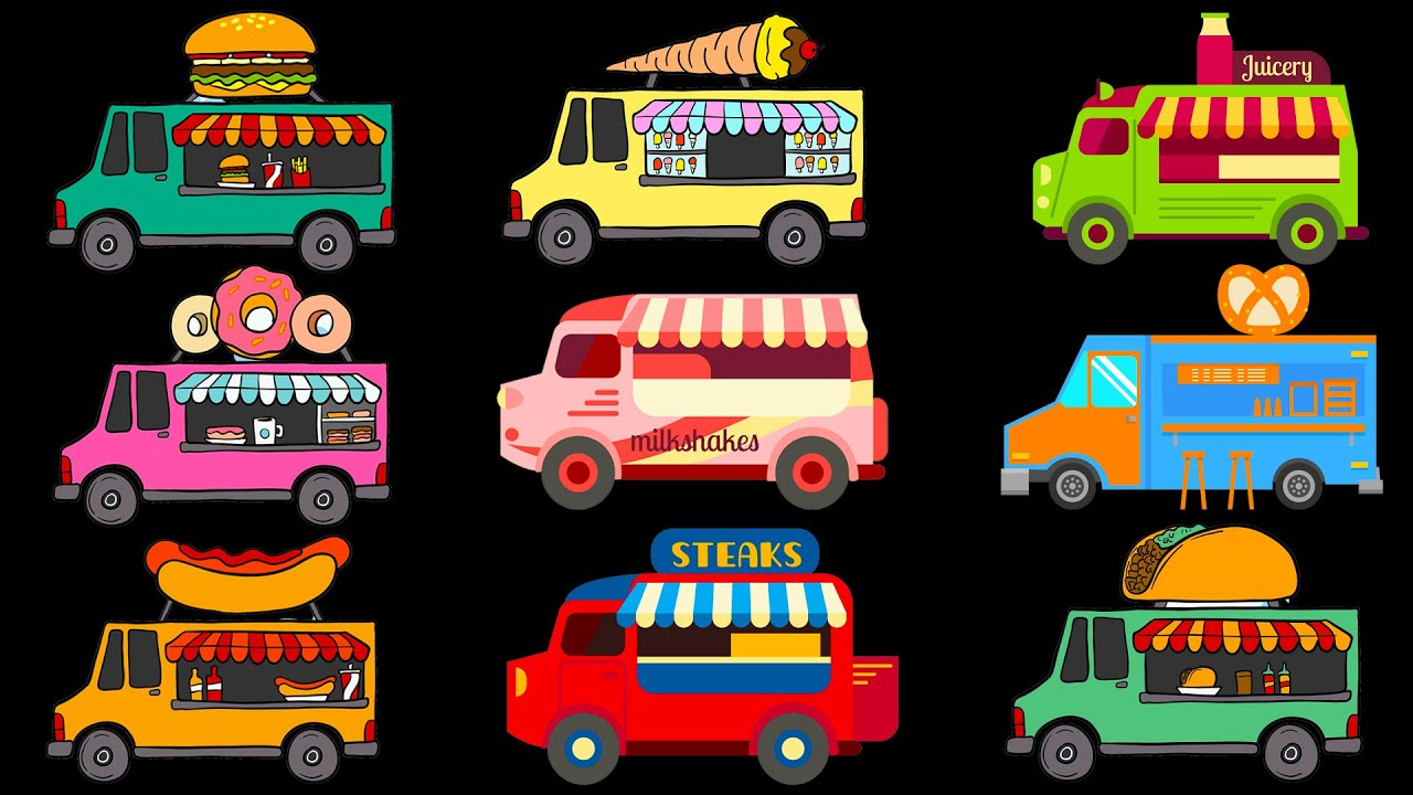 Street Vehicles Trucks For Children