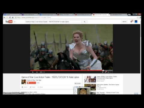 Kate Upton Game Of War Trailer.The Revelation 12 Woman. Illuminati Freemason Symbolism. |