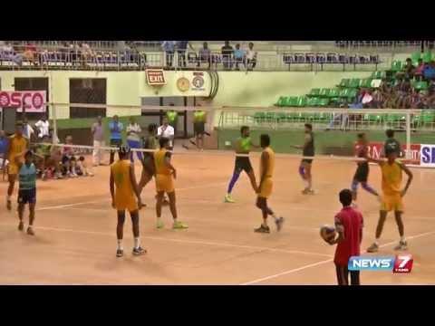 IOB wins A-Division volleyball championship at Chennai | News7 Tamil