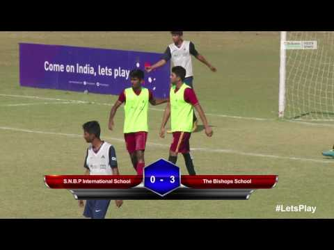 RFYS: Pune Sr. Boys - The Bishops School vs S.N.B.P International School Highlights