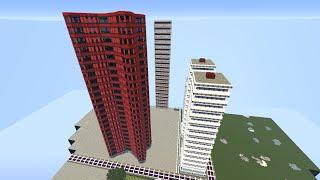 Minecraft City Tower 1-2