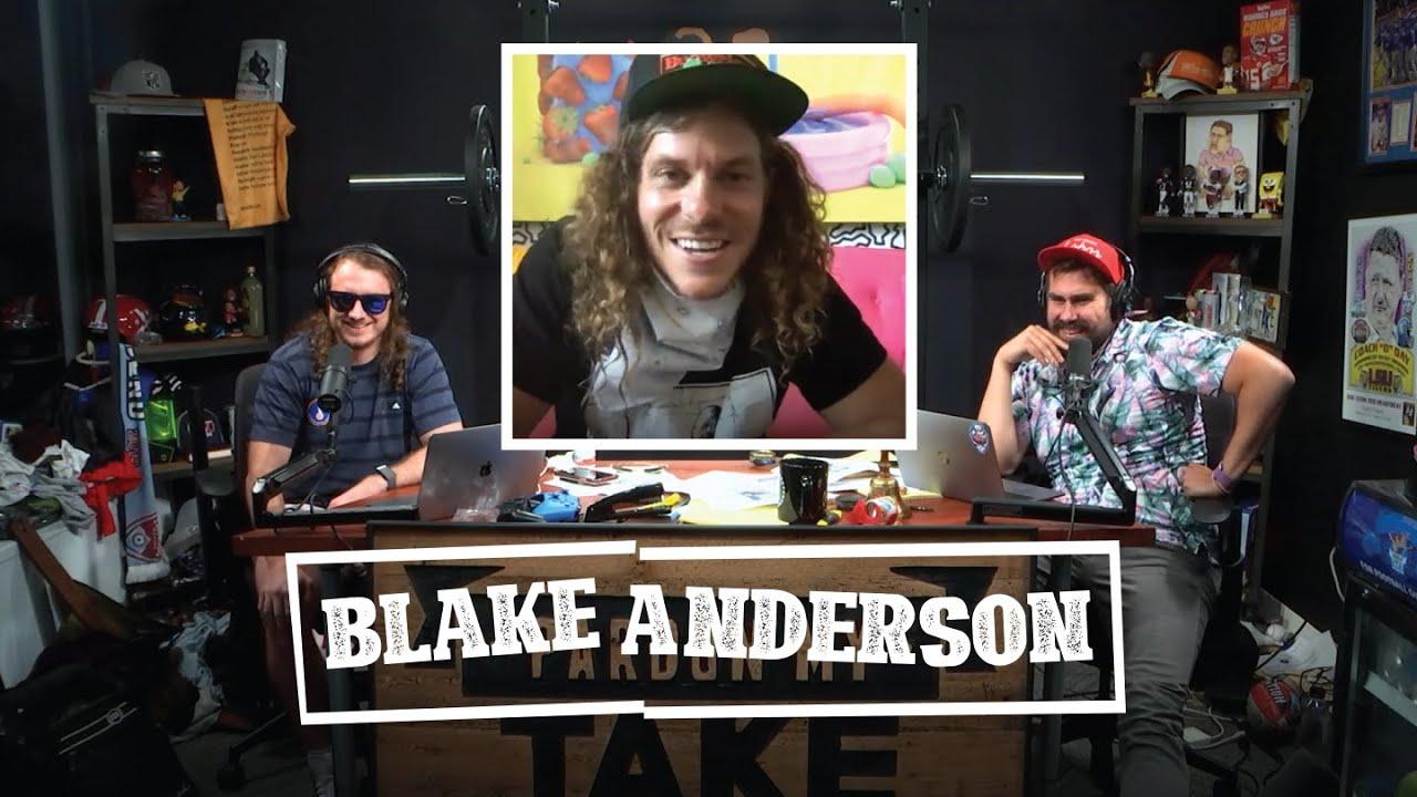Blake Anderson's Legendary Drunk Injury | Pardon My Take