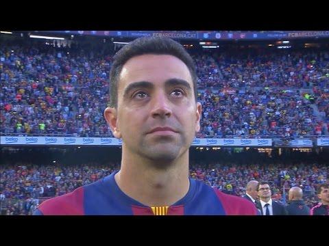FC Barcelona - La Liga Celebration and Xavi's Farewell