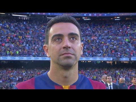 FC Barcelona - La Liga Celebration and Xavi's Farewell