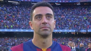 FC Barcelona - La Liga Celebration and Xavi