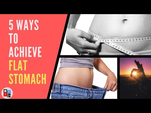 5-best-ways-on-how-to-get-a-flat-stomach-i-lose-belly-fats