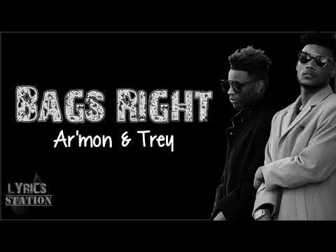 Bags right by armon and trey