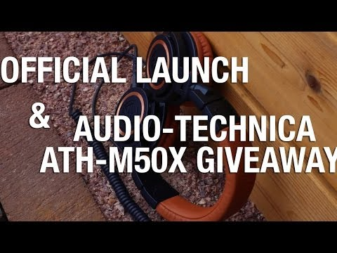 Giveaway: Audio Technica ATH M50x [CLOSED]