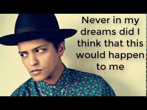 Rest of my life-  Bruno Mars with lyrics