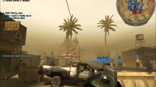 Battlefield 2 single player with  256 bots