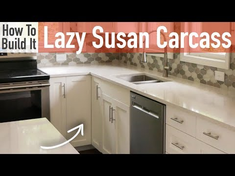 DIY Lazy Susan Carcass (Frameless)