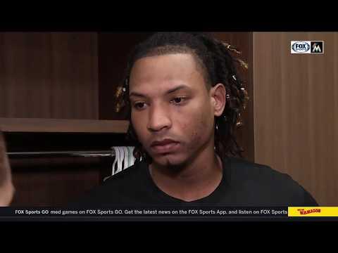 Jose Urena -- Miami Marlins at Atlanta Braves 08/15/18