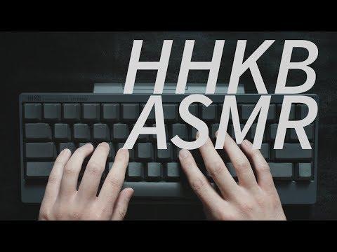 【公式】HHKB ASMR -キーボードタイピング音(Keyboard Typing Sounds) Happy Hacking Keyboard Type-S