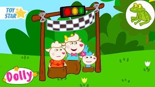 Dolly And Friends | Frog, Polly's Friend | Season 3 | 3 New Episodes | Funny Cartoon For Kids #278