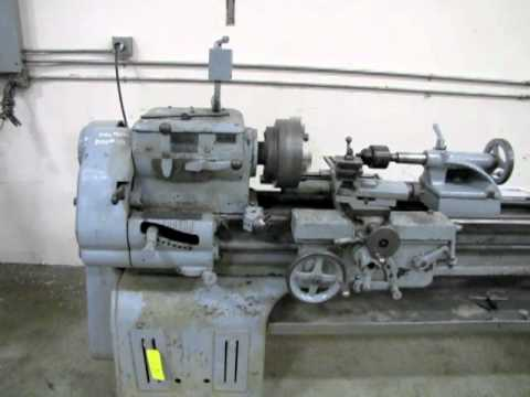 Lot 113 - Sebastian Lathe Company Metal Lathe