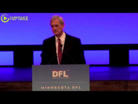 Rep. Rick Nolan Addresses MN Democratic Party Convention