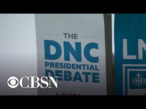 Democratic candidates threaten to boycott next debate