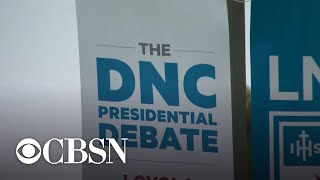 Democratic candidates threaten to boycott next debate