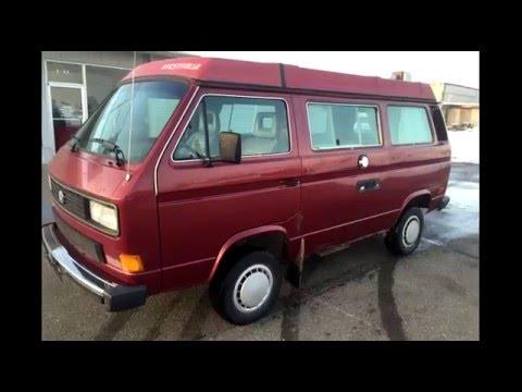 Volkswagen Vanagon Syncro Westfalia. We found a Camper.