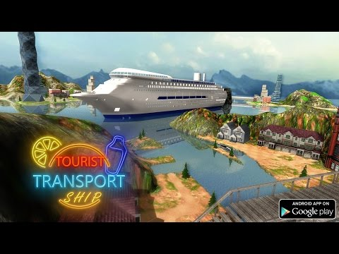 Tourist Transport Ship Game 3D Gameplay (by Fazbro)