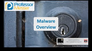 Malware Overview - CompTIA Security+ SY0-401: 3.1