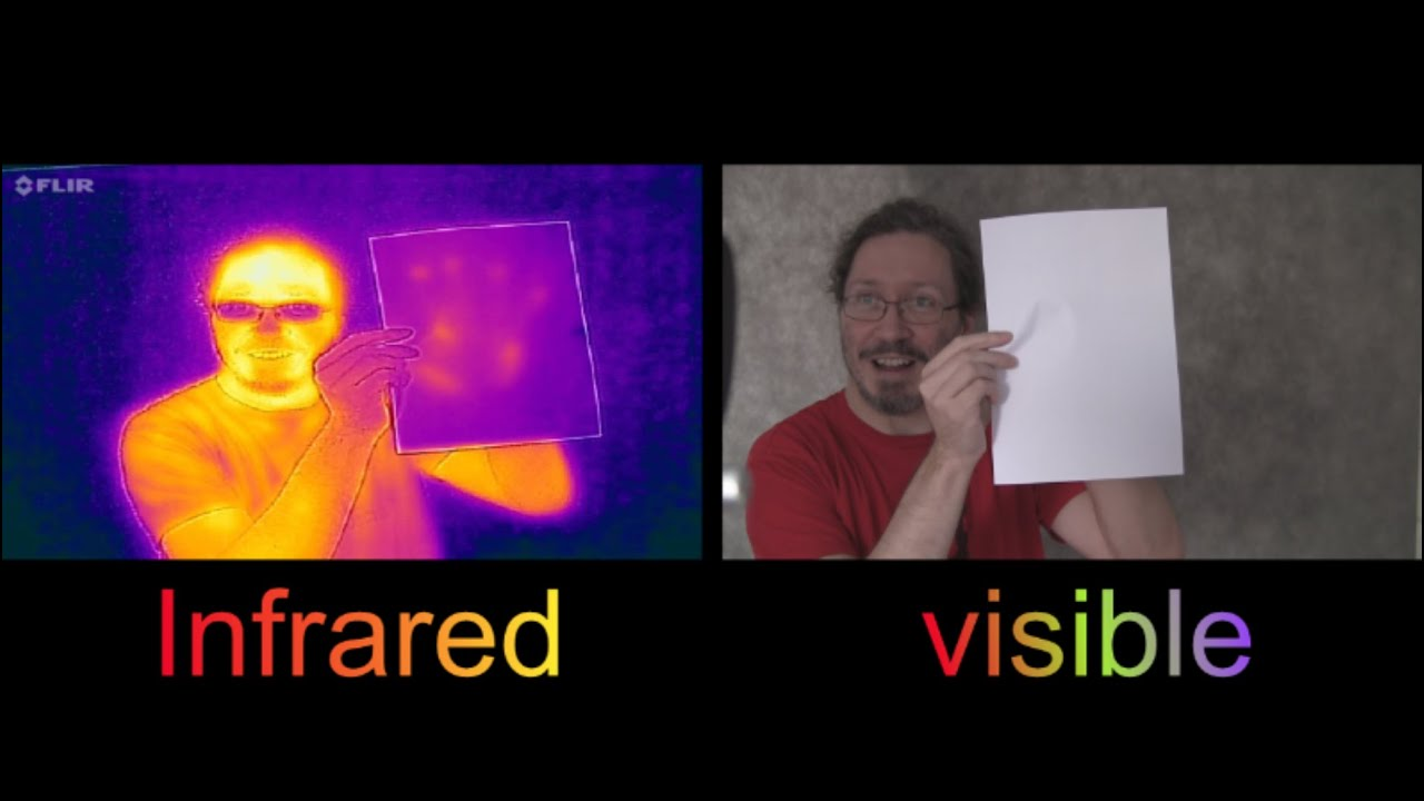 How to become invisible to Infrared Cameras - YouTube