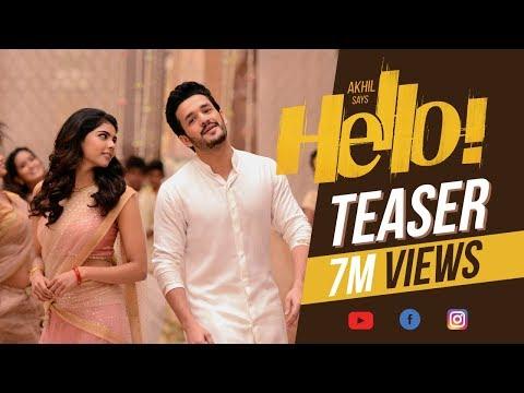 HELLO! Teaser - Akhil Akkineni, Kalyani Priyadarshan || Vikram K Kumar || Akkineni Nagarjuna