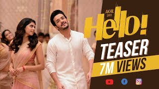 Video HELLO! Teaser - Akhil Akkineni, Kalyani Priyadarshan || Vikram K Kumar || Akkineni Nagarjuna download MP3, 3GP, MP4, WEBM, AVI, FLV November 2017