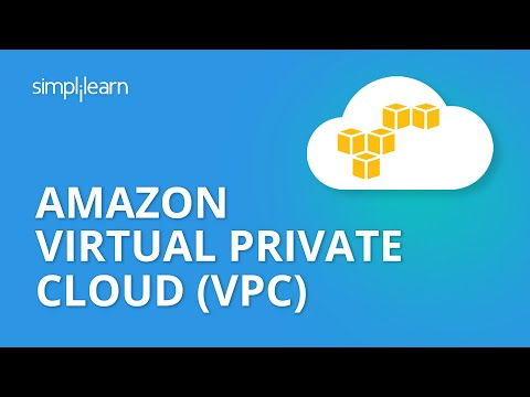 Amazon Virtual Private Cloud (VPC) | AWS Tutorial For Beginners | AWS Training Video | Simplilearn
