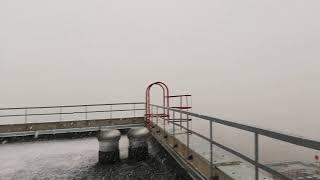 Смотреть видео Снегопад и метель в Москве сегодня 22 января 2020 г онлайн