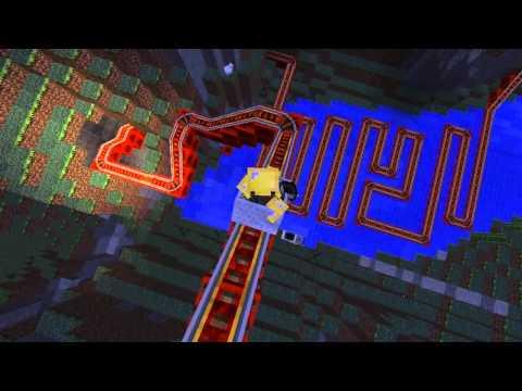 Minecraft: Tàu lượn siêu tốc!