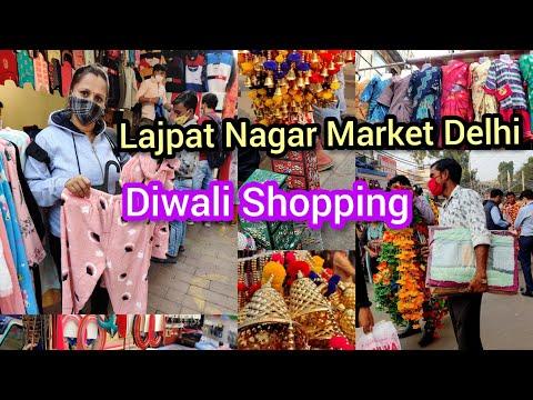 Lajpat Nagar Market Delhi Diwali Dhamaka | Kids Wear, Ladies Wear, Home Decor & Jewelry  Collection