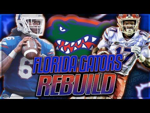 FLORIDA GATORS REBUILD -- Emory Jones Becomes a Legend | NCAA Football 14 Rebuild